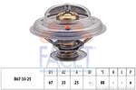 Termostat układu chłodzenia FACET 7.8361S FACET 7.8361S