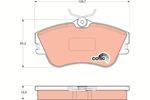 Klocki hamulcowe - komplet TRW COTEC GDB1092-Foto 2