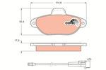 Klocki hamulcowe - komplet TRW COTEC GDB1115