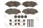 Klocki hamulcowe - komplet TRW GDB1698 TRW GDB1698