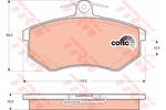 Klocki hamulcowe - komplet STARLINE BDS071 STARLINE BDS071