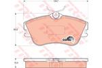 Klocki hamulcowe - komplet TRW GDB1092 TRW GDB1092