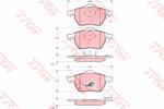 Klocki hamulcowe - komplet TRW GDB1275 TRW GDB1275