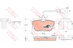 Klocki hamulcowe - komplet TRW GDB1326 TRW GDB1326