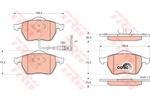 Klocki hamulcowe - komplet STARLINE BDS259 STARLINE BDS259