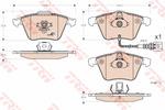 Klocki hamulcowe - komplet TRW GDB1616 TRW GDB1616