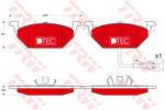 Klocki hamulcowe - komplet TRW GDB1658DTE TRW GDB1658DTE
