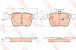 Klocki hamulcowe - komplet TRW GDB1957 TRW GDB1957