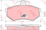 Klocki hamulcowe - komplet TRW GDB430 TRW GDB430