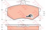 Klocki hamulcowe - komplet STARLINE BDS043 STARLINE BDS043