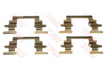 Zestaw akcesoriów klocków hamulcowych TRW PFK431