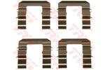 Zestaw akcesoriów klocków hamulcowych TRW PFK577
