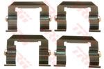 Zestaw akcesoriów klocków hamulcowych TRW PFK598
