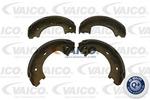 Szczęki hamulcowe hamulca postojowego - komplet VAICO Q+, original equipment manufacturer quality V30-2142 (Oś tylna)