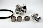 Zestaw paska rozrządu + pompa wody HEPU PK75091