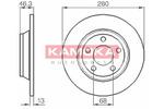 Tarcza hamulcowa KAMOKA 1031518 KAMOKA 1031518