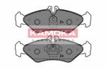 Klocki hamulcowe - komplet KAMOKA JQ1012078