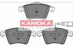 Klocki hamulcowe - komplet KAMOKA JQ1013286