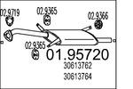 Tłumik końcowy MTS  01.95720