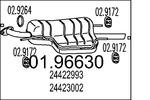 Tłumik końcowy MTS  01.96630