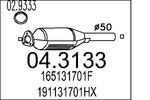 Katalizator MTS  04.3133