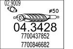 Katalizator MTS  04.3428