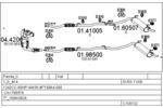 Układ wydechowy MTS  C100132012844