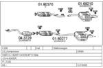 Układ wydechowy MTS  C210436008000