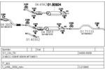 Układ wydechowy MTS  C210645004408