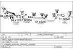 Układ wydechowy MTS C260320006231
