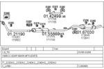 Układ wydechowy MTS  C260405005540