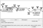 Układ wydechowy MTS  C280811011895