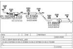 Układ wydechowy MTS  C310163007076