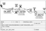Układ wydechowy MTS  C380004002793