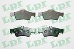 Klocki hamulcowe - komplet LPR 05P1232 LPR 05P1232