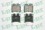 Klocki hamulcowe - komplet LPR 05P437 LPR 05P437