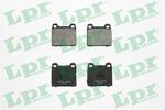 Klocki hamulcowe - komplet LPR 05P659 LPR 05P659