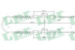 Linka hamulca postojowego LPR C0175B