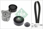 Zestaw paska klinowego wielorowkowego INA  529 0043 10