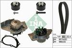 Zestaw paska rozrządu + pompa wody INA 530 0111 30 INA 530011130
