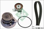 Zestaw paska rozrządu + pompa wody INA 530 0147 30 INA 530014730