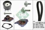 Zestaw paska rozrządu + pompa wody INA 530019730