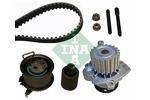 Zestaw paska rozrządu + pompa wody INA 530020133