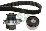 Zestaw paska rozrządu + pompa wody INA 530046230
