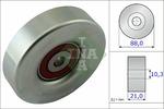 Rolka kierunkowa, prowadząca paska klinowego zębatego INA 532061810