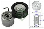 Napinacz paska klinowego wielorowkowego INA 534048710