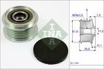 Sprzęgło jednokierunkowe alternatora INA  535 0022 10