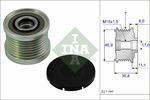 Sprzęgło jednokierunkowe alternatora INA 535 0081 10 INA 535008110