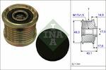 Sprzęgło jednokierunkowe alternatora INA  535 0163 10