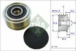 Sprzęgło jednokierunkowe alternatora INA 535018710